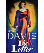 2625. Bette Davis The Letter Movie Art Decoration POSTER. Home Graphic D... - $10.89+