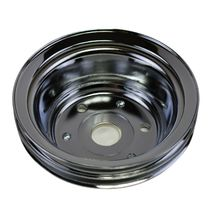 Crankshaft Pulley Double-Groove LWP Long Water Pump For Chevy SBC 262 307 400 image 6