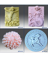 Free shipping with purchase of all 4 of these mold - $120.00