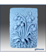 2D Silicone Soap Mold - May Lily - $26.00