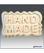 """Silicone Soap Mold - Great Impressions Ripple """"HANDMADE - $26.00"""