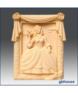 Silicone Soap Mold- Southern Belle in Rose Frame - $26.00
