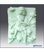 2D Silicone Soap Mold–Melinda, Fairy of the Maple Tree - $28.00