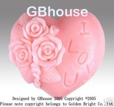 Rosesonheart - Silicone Soap Mold - $26.00