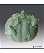 Silicone Soap Mold: Pumpkin Hide 'n Seek Mice - $22.00