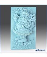 Silicone Soap Mold Jolly Santa - $26.00