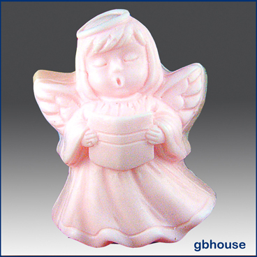 Silicone Soap Mold Singing Angel