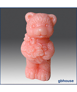 3-D Silicone Soap/Candle Molds Love Bear girl - $28.00
