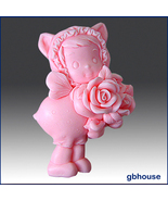 Silicone Soap Mold 2D Rosie Doll - $26.00