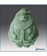 Silicone Soap Mold - Country Style Santa - $26.00