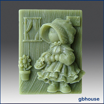 Silicone Soap Mold - Country Ragdoll – Missy - $24.99