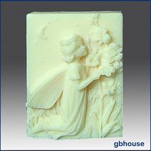 Silicone Soap Mold – Prilla, Fairy of Evening Prayers - $28.00