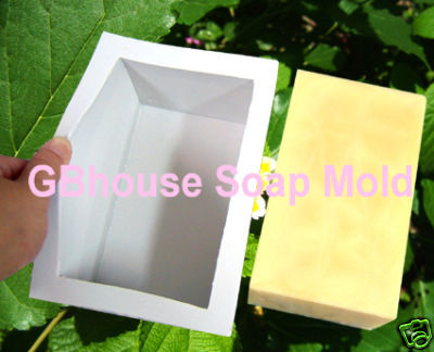Log Mold~Silicone Soap Mold-for26.8oz. soap bar