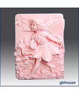 Fairy10~Marina,Fairy of the Liberty-silicone soap mold - $28.00