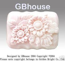 Sunflower Garden - Silicone soap Mold - $25.00