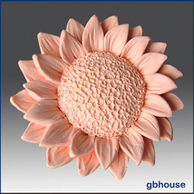 2D Silicone Soap and floating candle Mold – Sunflower - $26.00