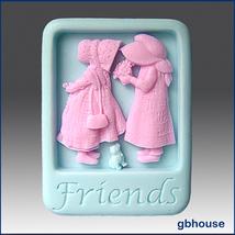 Friends - 2D Silicone Soap Mold - $26.00