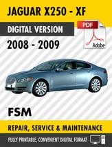 2008 2009 JAGUAR XF X250 FACTORY SERVICE REPAIR MANUAL / WORKSHOP MANUAL... - $13.86