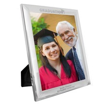 Personalised Silver 8x10 Graduation Photo Frame | Cellini Gifts #1 - $23.09