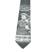 Ralph Martin Lucy Vitameatavegamin Polyester Tie Necktie image 2