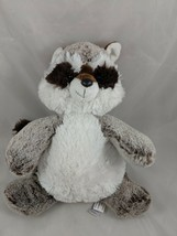 "Aurora Raccoon Plush 12"" Brown White 2017 Stuffed Animal toy - $8.95"