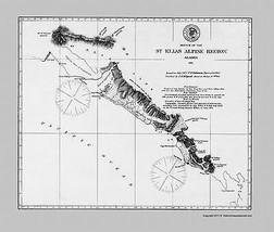 St Elias Alpine Region Alaska - USCS 1875 - 23 x 27.00 - $36.95+