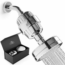 Shower Head Filter Combo Water Purifier – 15 Stage Filtered Shower Head ... - $95.99