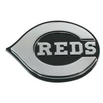 Fanmats MLB Cincinnati Reds Diecast 3D Chrome Emblem Car Truck RV 2-4 Day Del. - $14.84