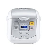 Panasonic 4-Cup Microcomputer Controlled Rice Cooker (SR-ZC075W) - $99.95