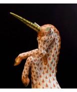 Herend Porcelain Unicorn, 15360 Rust Fishnet - $285.00