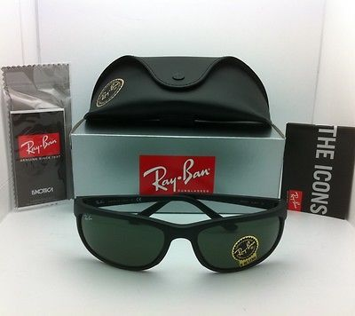 ff0b453f91 New Ray-Ban Sunglasses PREDATOR 2 RB 2027 W1847 Matte Black with G-15