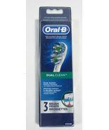 Oral-B Dual Clean - 3 Brush Heads - $8.95
