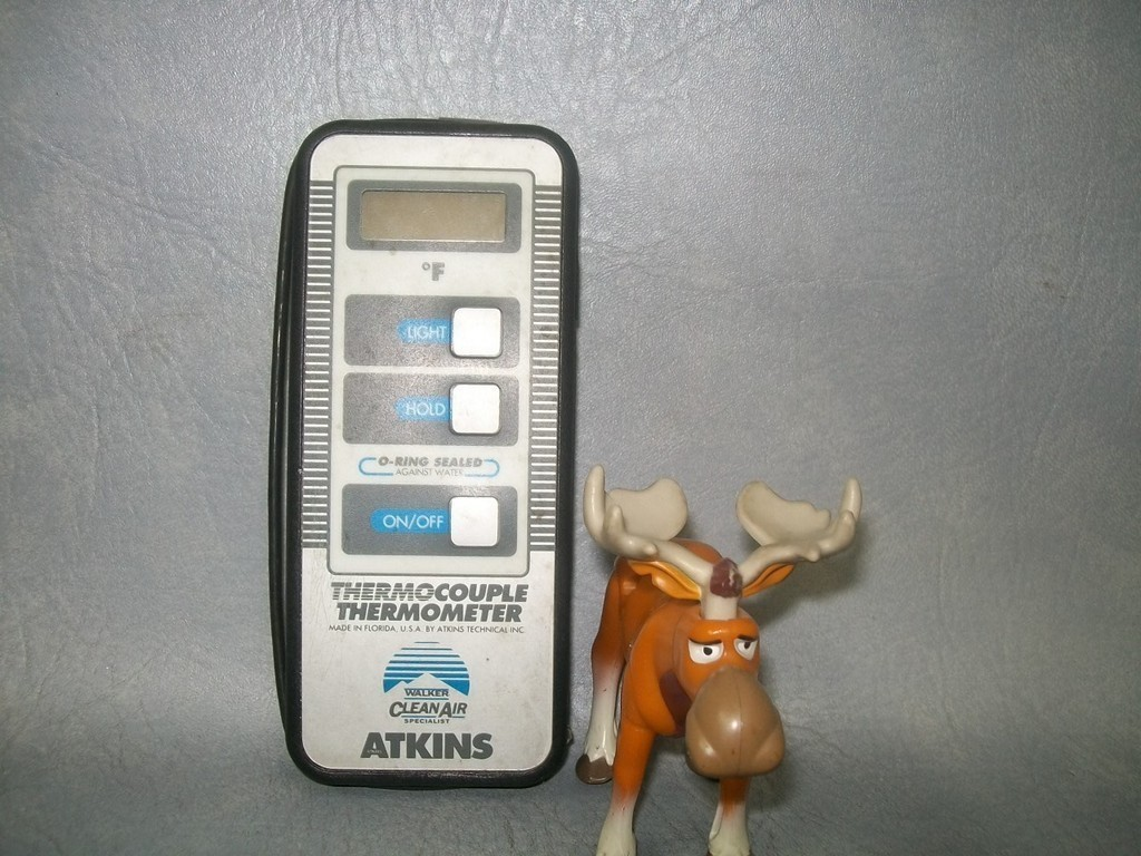 Atkins Themocouple Thermometer degrees Farenheit