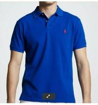 RALPH LAUREN Navy Blue Polo Shirt Size XL - $33.24