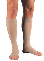 Jobst Relief Knee High Moderate Compression 15-20, Open Toe Silky Beige, XL FULL - $30.25