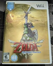 THE LEGEND OF ZELDA: SKYWARD SWORD NINTENDO Wii, 2011 W/ MUSIC CD SOUNDT... - $29.99