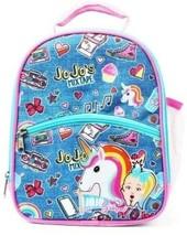 JOJO SIWA NICKELODEON Dual-Pocket Upright PVC-Free Lunch Tote Bag Box NW... - $13.85