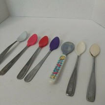 Vintage Baby Spoon Lot of 7 Gerber Munchkin And The First Years Collecti... - $19.70