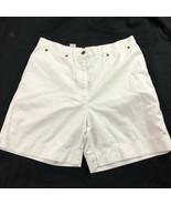 Jones New York Women's White Shorts 12 - $19.79