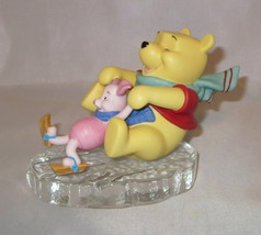 Friends Through Thick and Thin Winnie The Pooh Piglet Ice Disney Figurin... - $54.44