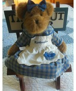 BOYDS Bears Muffin B. Bluebeary T.J.'s Best Dressed Collection W/Time Ou... - $65.00