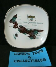 "Lord Nelson Pottery Prince Edward Island Tartan 5"" diameter souvenir plate - $18.99"