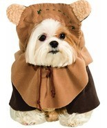Rubies Star Wars Ewok Teddy Bears Skywalker Dog Pet Halloween Costume 88... - £14.70 GBP