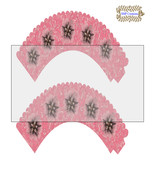 CupCake Wrapper18-Digital Clipart-Holiday-Gift Tag-Digital Paper-Party - $2.00