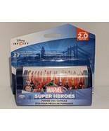 Disney Infinity Marvel Super Heroes Dual Power Disc Capsule 2.0 Bands H... - $6.75
