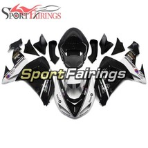 ABS Plastic White Black Fairing For Kawasaki 2006 2007 ZX10R ZX1000D Bod... - $383.92