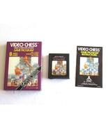 Atari Video Chess w/ Box & Manual & Cart CX 2645 Special Edition Warner ... - $14.99