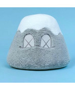 Kaws Holiday Japan Mt Fuji Plush Japan Limited Color gray Size 8 inch RARE - $474.21