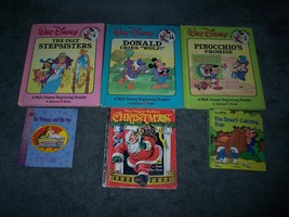 Lot Of 6 1980's Watl Disney & other children Board Books - $10.99