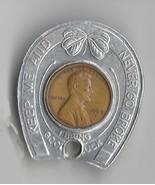 "1969-D ""Good Luck"" Penny - £7.27 GBP"